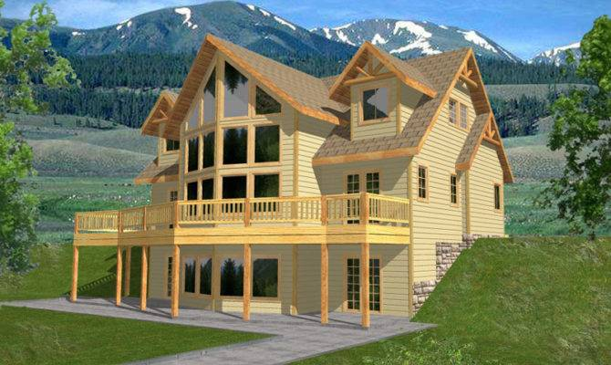 Mountain Homes Floor Plans Houses