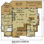 Mountain House Open Floor Plan Max Fulbright Designs