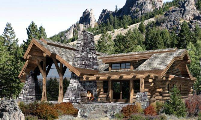 Mountain House Plan Vacation Basement