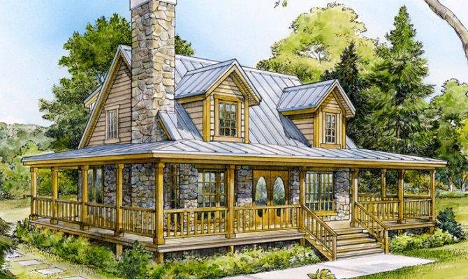 Mountain House Plans Small Home Plan Design