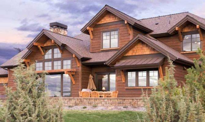 Mountain Rustic Style House Plans Plan