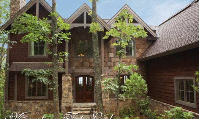 Mountain Top Lodge House Plan Craftsman Plans
