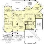 Mountain Top Lodge Rustic House Plan