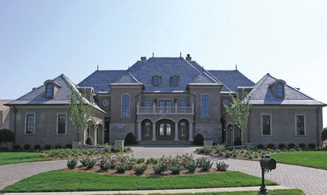 26 Beautiful Chateauesque Homes House Plans