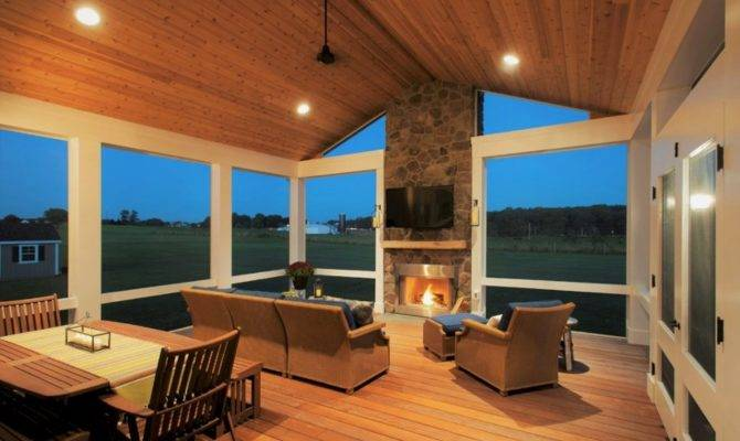 Much Does Cost Build Fireplace Screened