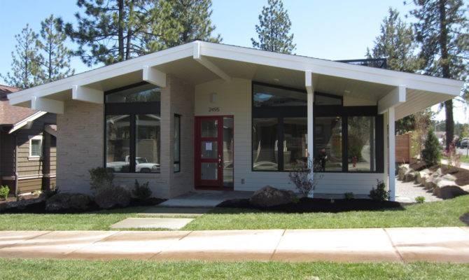 Muddy River Design Mid Century Modern House Plan Bend Oregon