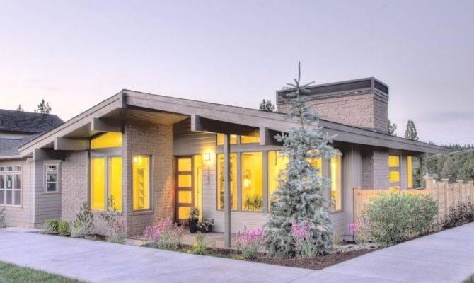 Muddy River Design Mid Century Modern House Plan Northwest