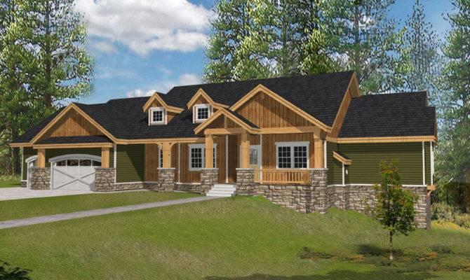 Muirfield Castle Rustic Home Plan House Plans