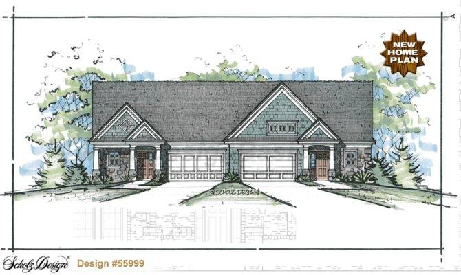 Multi Home Plans Triplex House Design Basics