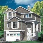Multi Level Craftsman Plan Architectural