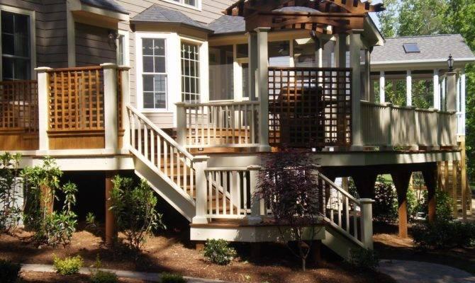 Multi Level Decks Design Photos Buqofiky