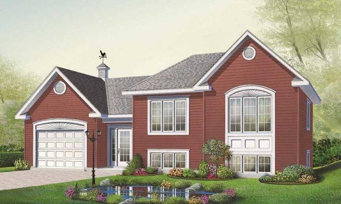 Multi Level Home Plans Design