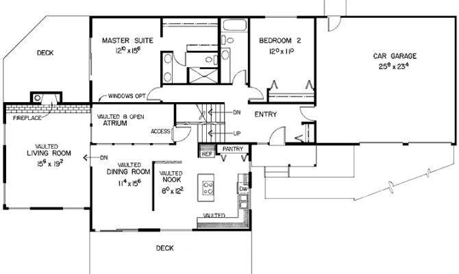 Multi Level House Plans Modern