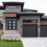 Multi Level Modern House Plan Architectural