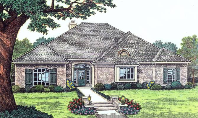 Myers Field European Home Plan House Plans More House Plans 73595
