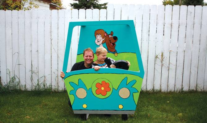 Mystery Machine Canadian Home Workshop