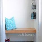 Nalle House Mini Mudroom Floating Bench Edition