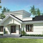 Nano Home Plan Elevation Square Feet Kerala Design