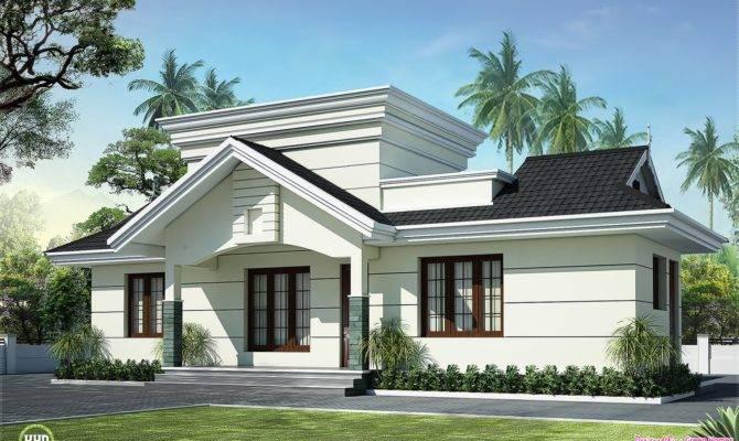 Nano Home Plan Elevation Square Feet Kerala Design