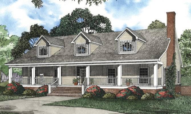Nantucket Cliff Cape Cod Home Plan House Plans