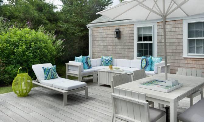 Nantucket Polpis Road Beach Style Deck Boston
