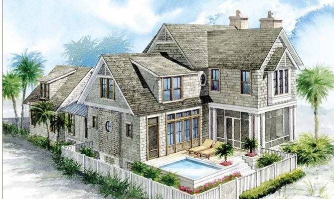 Nantucket Shingle House Plans Home Design Style