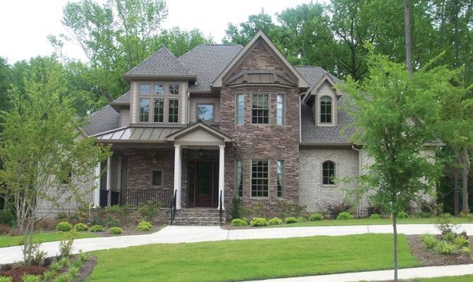 Naperville European Style Home Plan House