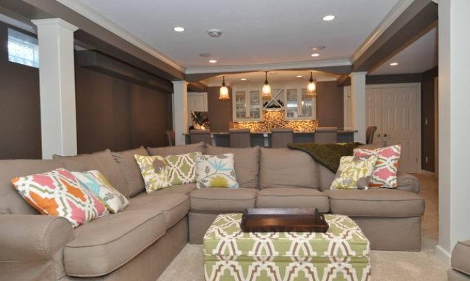 Narrow Basement Design Home Decoration Live