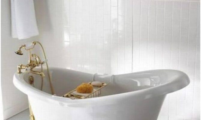 Narrow Bathtubs Help Much Small Bathroom Homesfeed