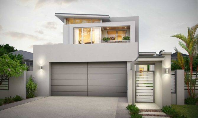 Narrow House Designs Perth Design Planning Houses
