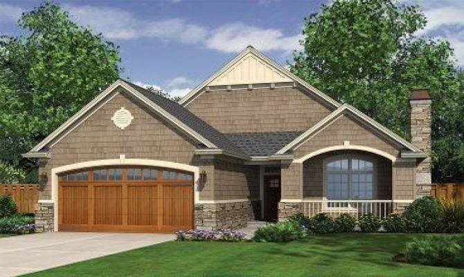 Narrow Lot Cottage House Plans One Story