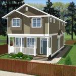 Narrow Lot Duplex House Plans Beach