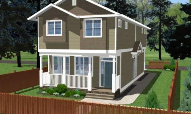 Narrow Lot Duplex House Plans Beach