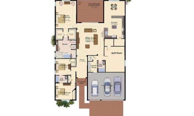 Narrow Lot Floor Plan Plans Pinterest