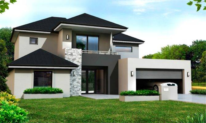 27 Beautiful Two Storey House Design With Floor Plan - House Plans
