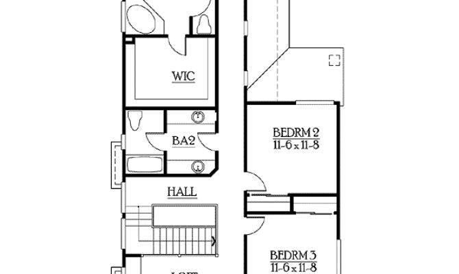 Narrow Lot Home Plan Options
