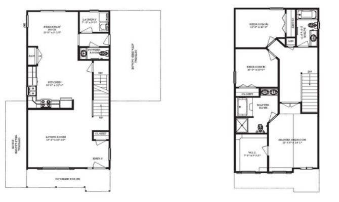 Narrow Lot Homes Houses Floor