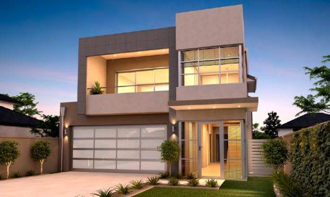 Narrow Lot Homes Perth Storey Home Design Rosmond