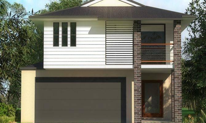 Narrow Lot Homes Urban House Two Story