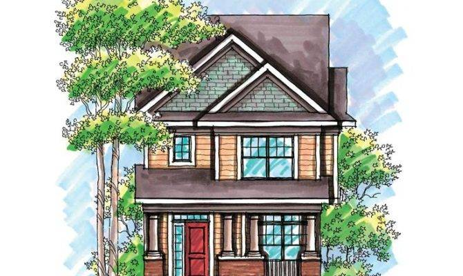 Narrow Lot House Plan Munising Ideas