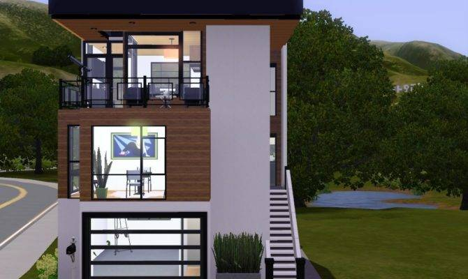 Narrow Lot House Plans Front Garage Philippines