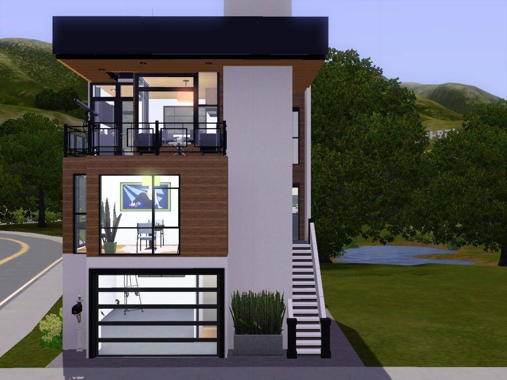 Narrow Lot House Plans Front Garage Philippines - House ...