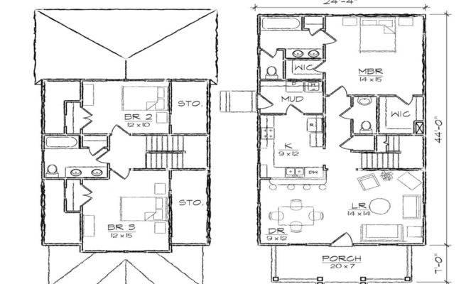 Narrow Lot House Plans Garage Craftsman