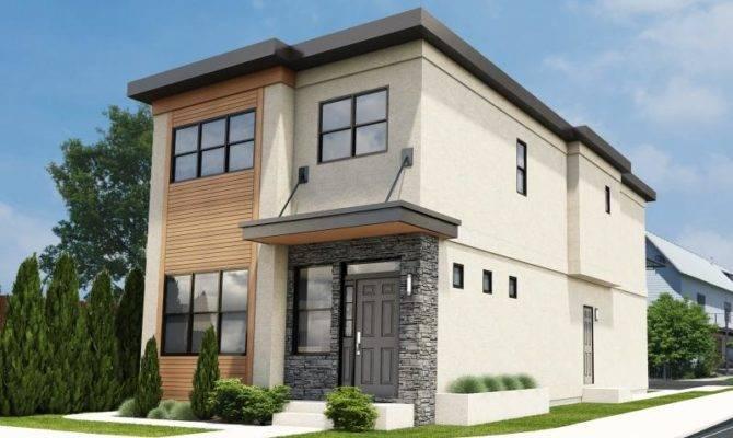 Narrow Lot House Plans Plan Hunters
