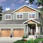 Narrow Lot House Plans Plan Week