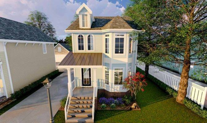 Narrow Lot Townhouse Architectural Designs