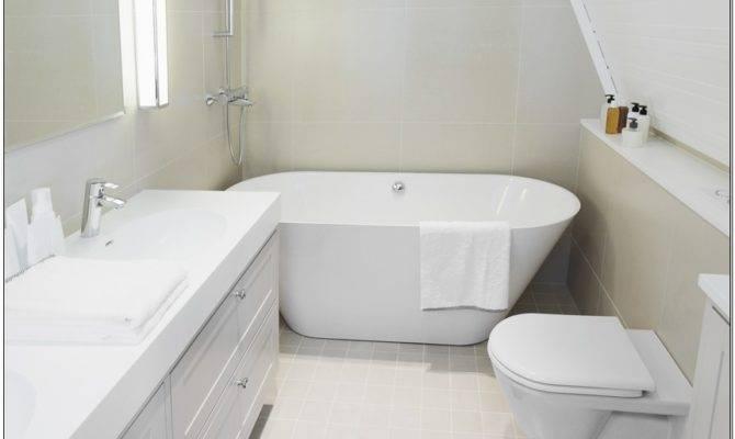 Narrow Soaking Tub Design Decoration