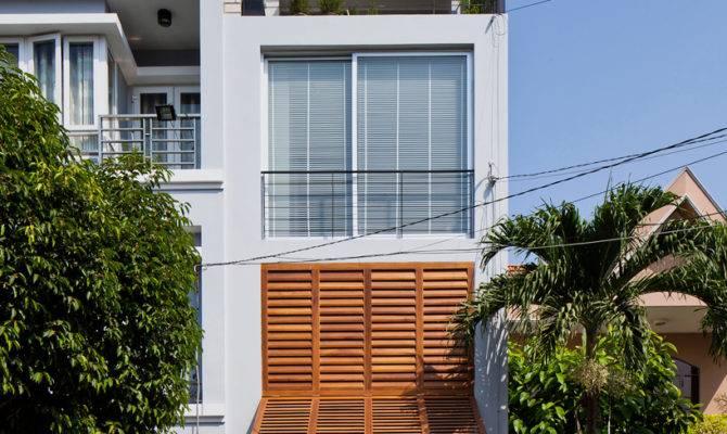 Narrow Townhouse Vietnam Architects