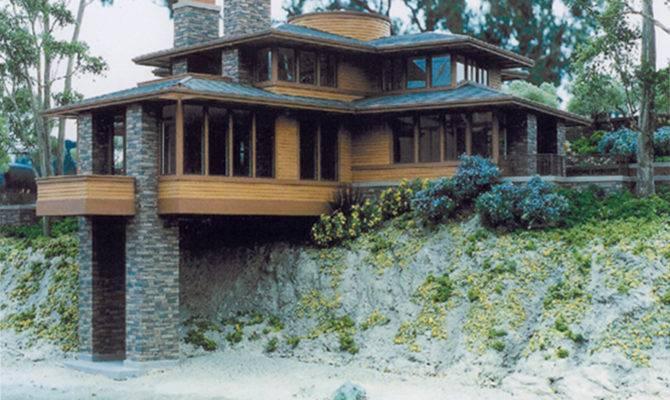 Natural Stone Wall Frank Lloyd Wright Buffalo Ccan
