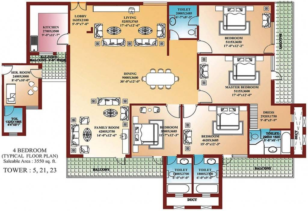 Awesome 20 Images Floor Plans 4 Bedroom House Plans